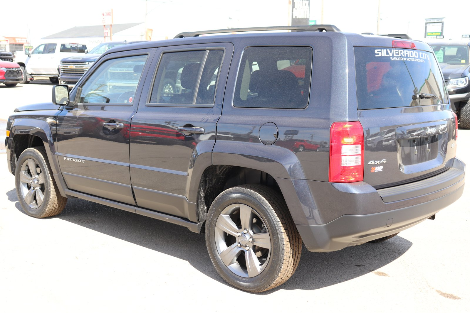 Certified Pre-Owned 2015 Jeep Patriot High Altitude -Remote Start, Leather, Sunroof, Navigation