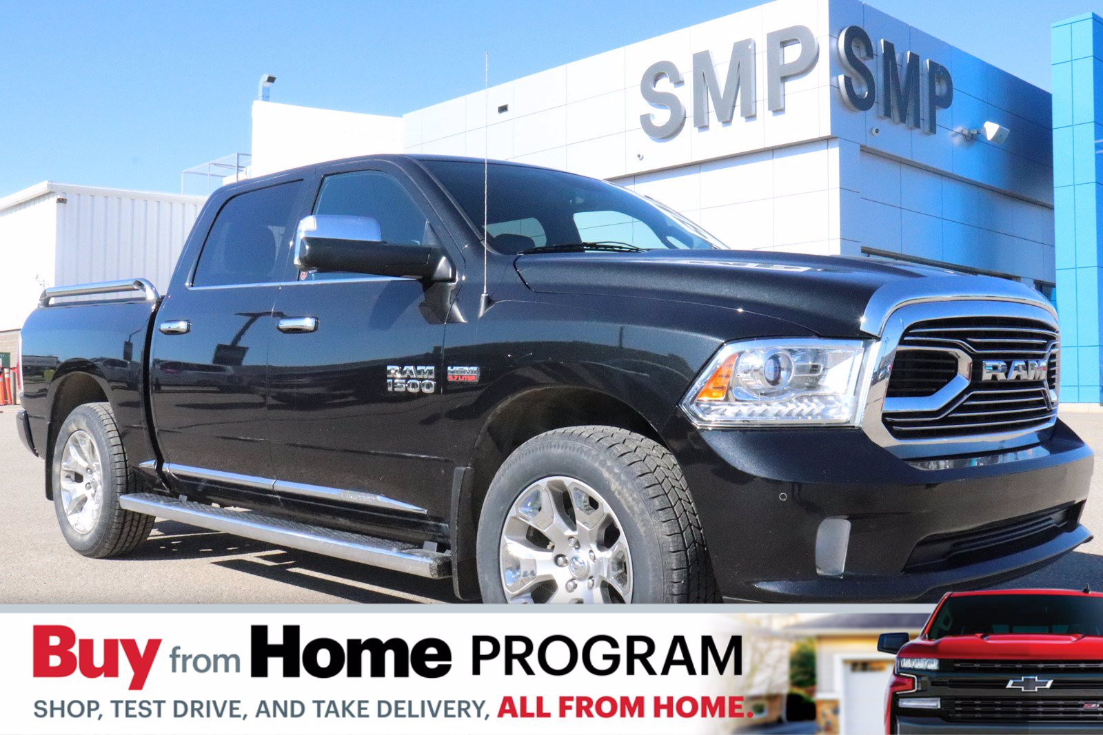 Certified Pre-Owned 2015 Ram 1500 Laramie Limited -Sunroof, Navigation, Remote Start