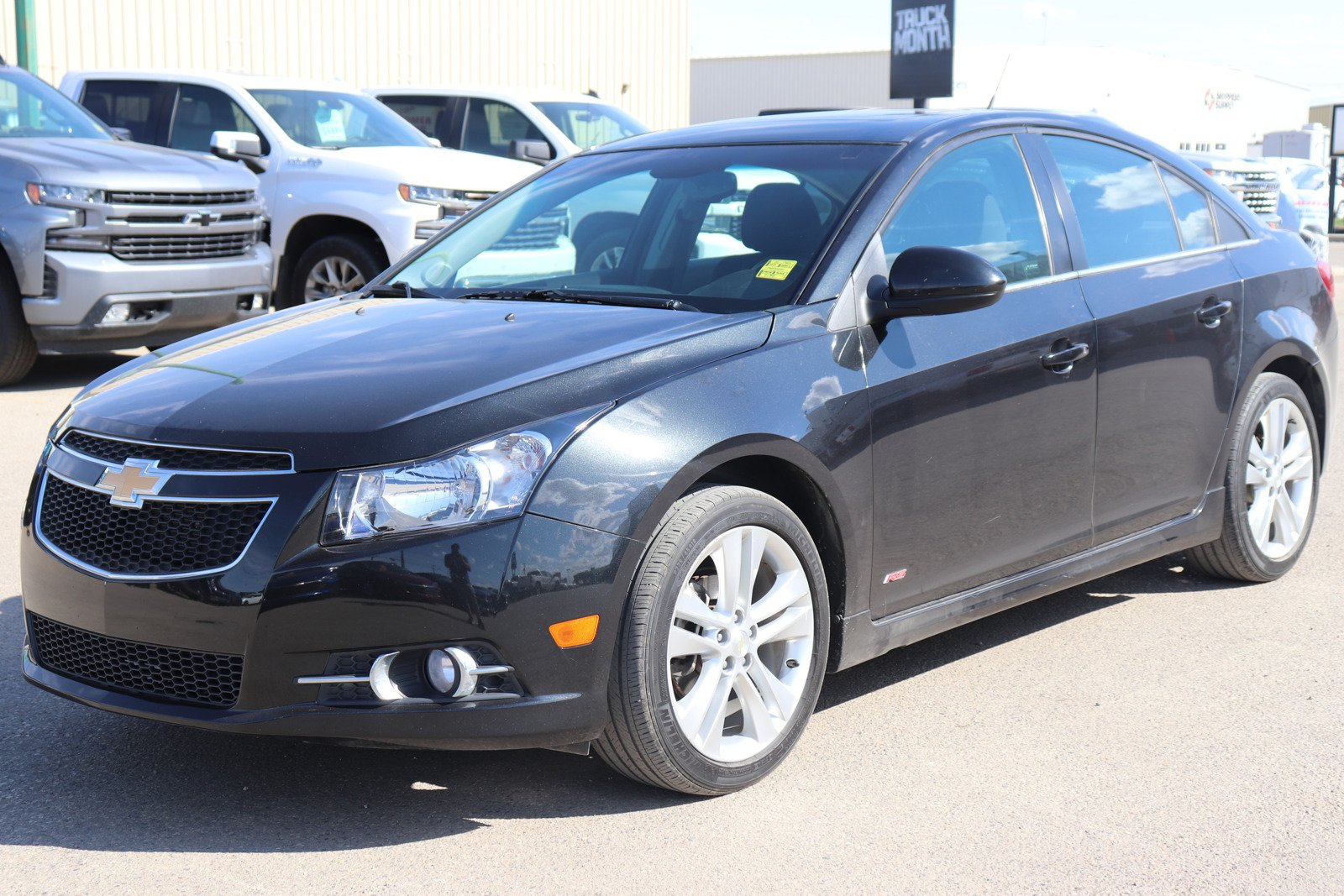 Certified Pre-Owned 2012 Chevrolet Cruze LT Turbo - RS Pkg, Sunroof, Remote Start, Power Seat
