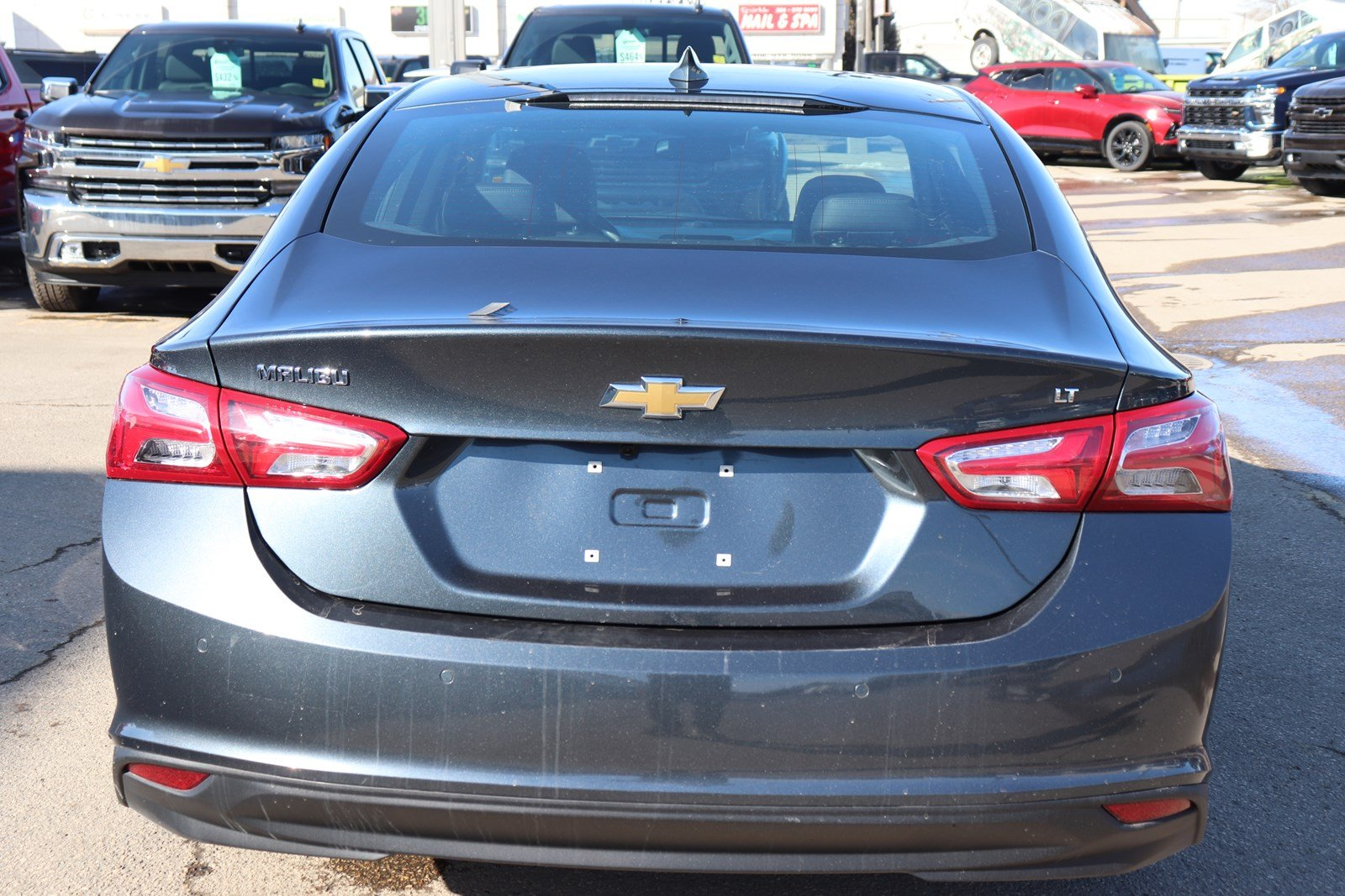 Certified Pre-Owned 2019 Chevrolet Malibu LT- Heated Leather, Sunroof, Rem Start, Htd Steering Wheel