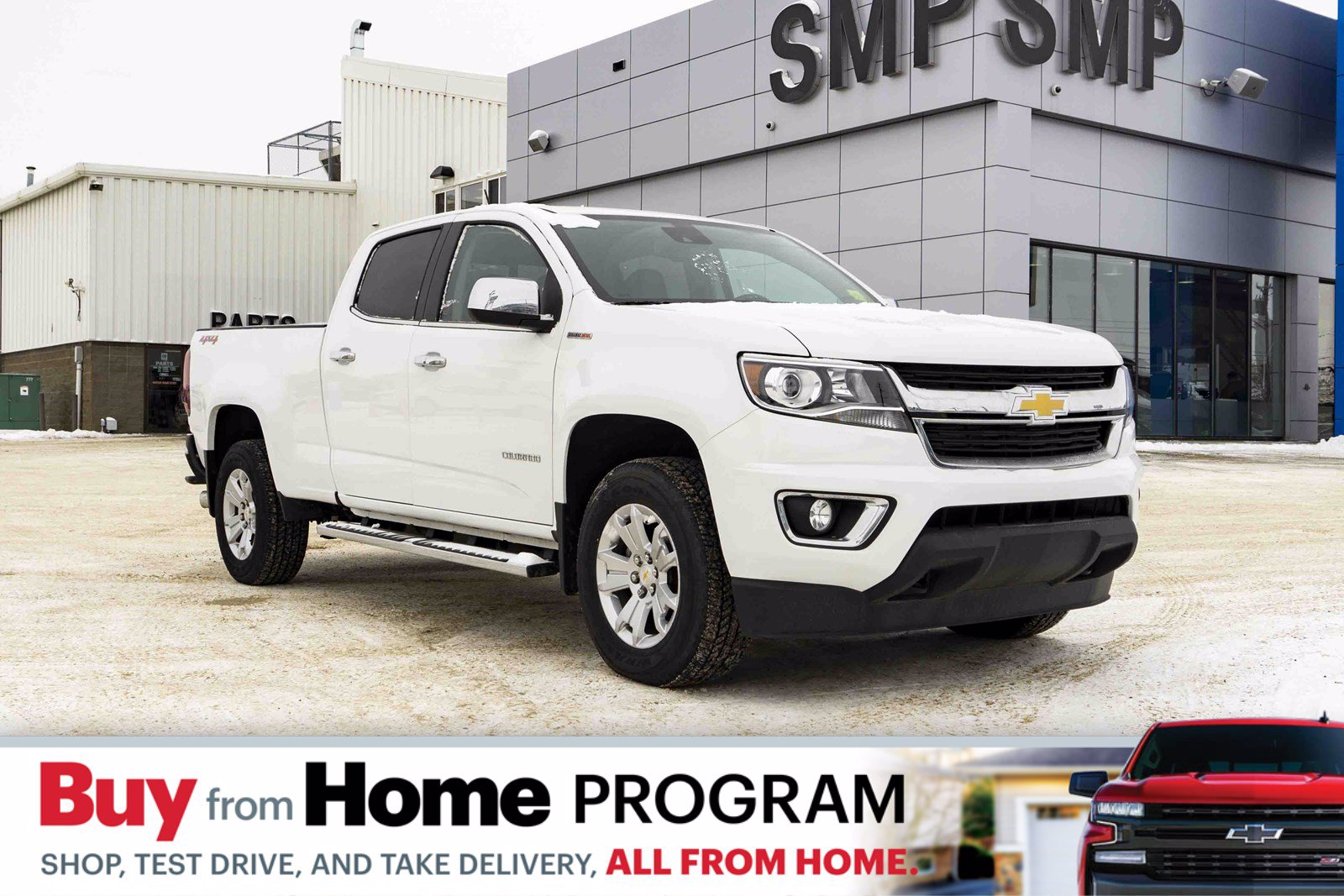 New 2019 Chevrolet Colorado 4WD LT 4WD Crew Cab Pickup- Diesel