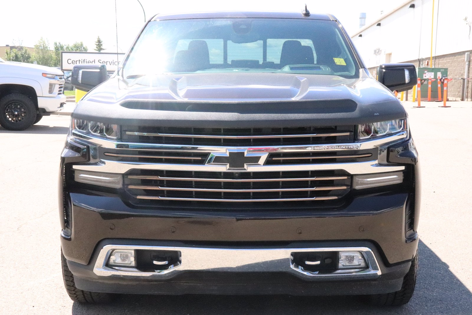 Certified Pre-Owned 2019 Chevrolet Silverado 1500 High Country - Leather, Nav, Sunroof, H.U.D, Pwr Tailgate