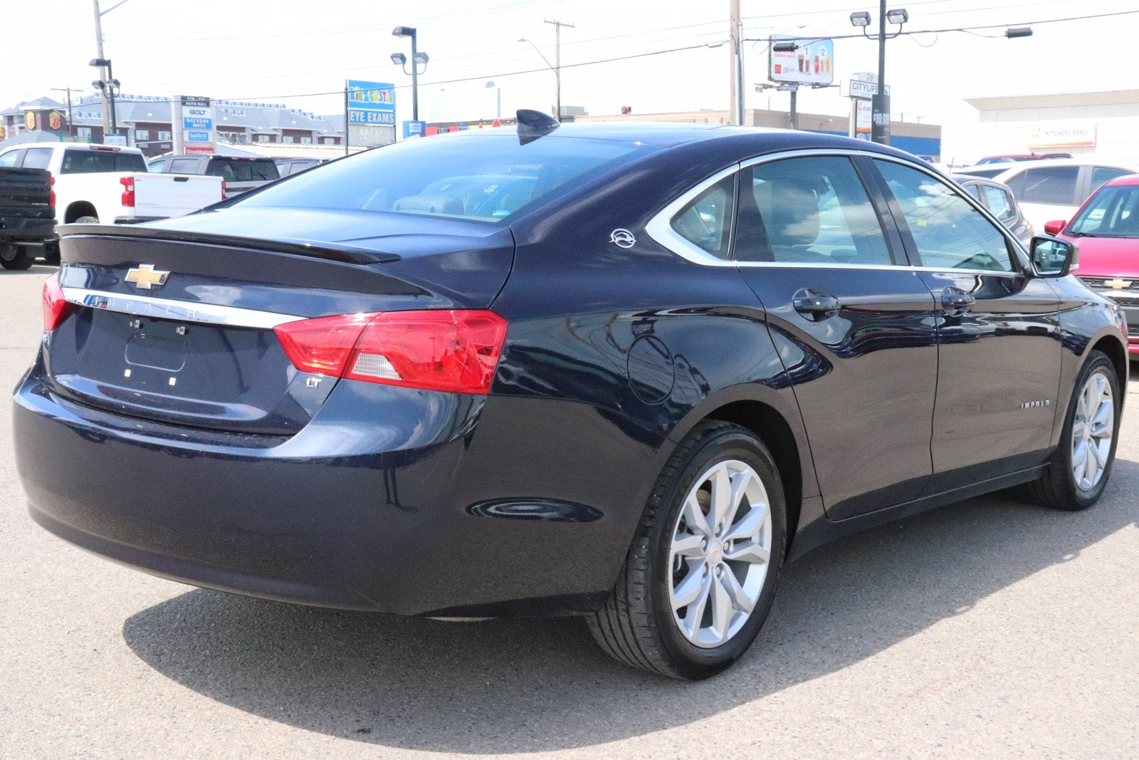 Certified Pre-Owned 2019 Chevrolet Impala LT- Leather, Sunroof, Remote Start