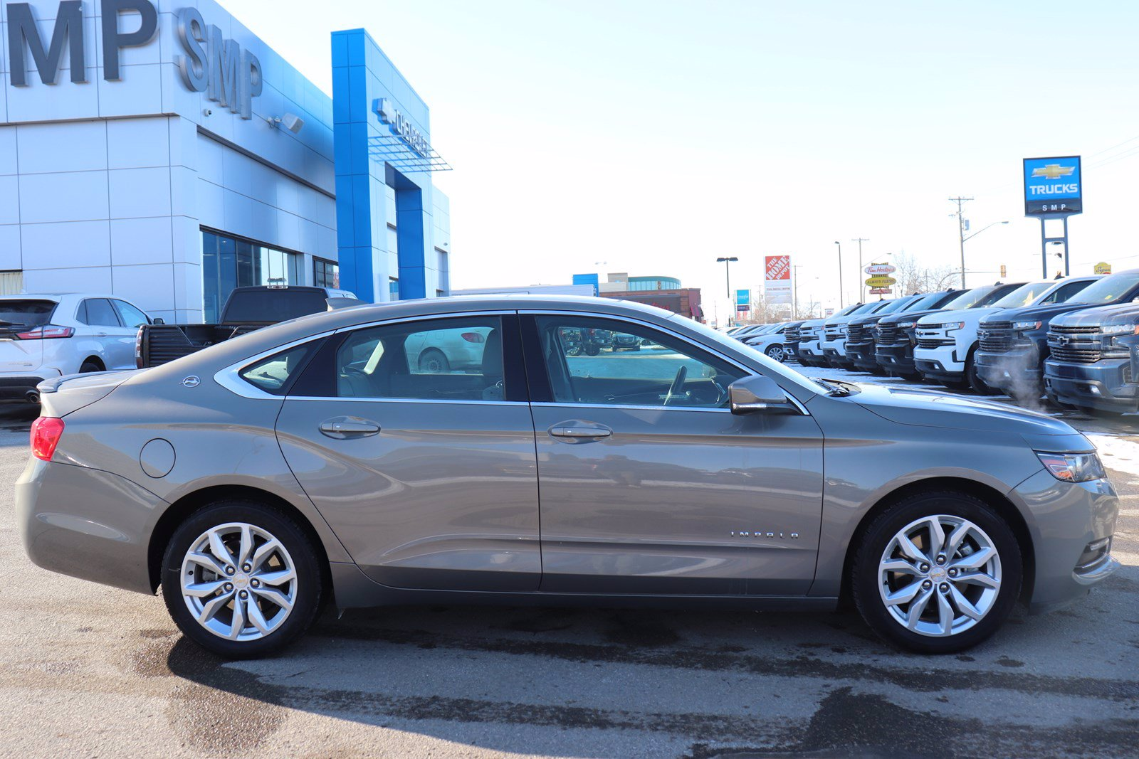 Certified Pre-Owned 2019 Chevrolet Impala LT- Leather, Sunroof, Heated Seats, Remote Start