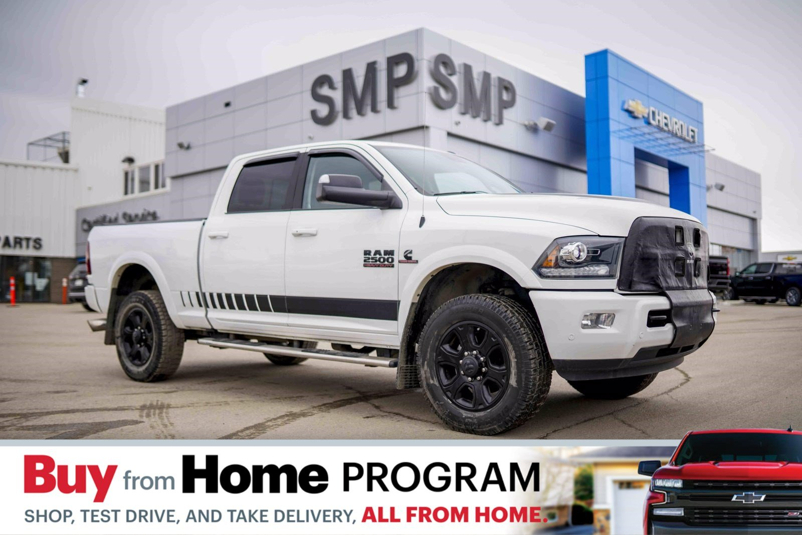 Certified Pre-Owned 2017 Ram 2500 Laramie - 6.7L Diesel, Leather, Htd/Cooled Seats, Sunroof