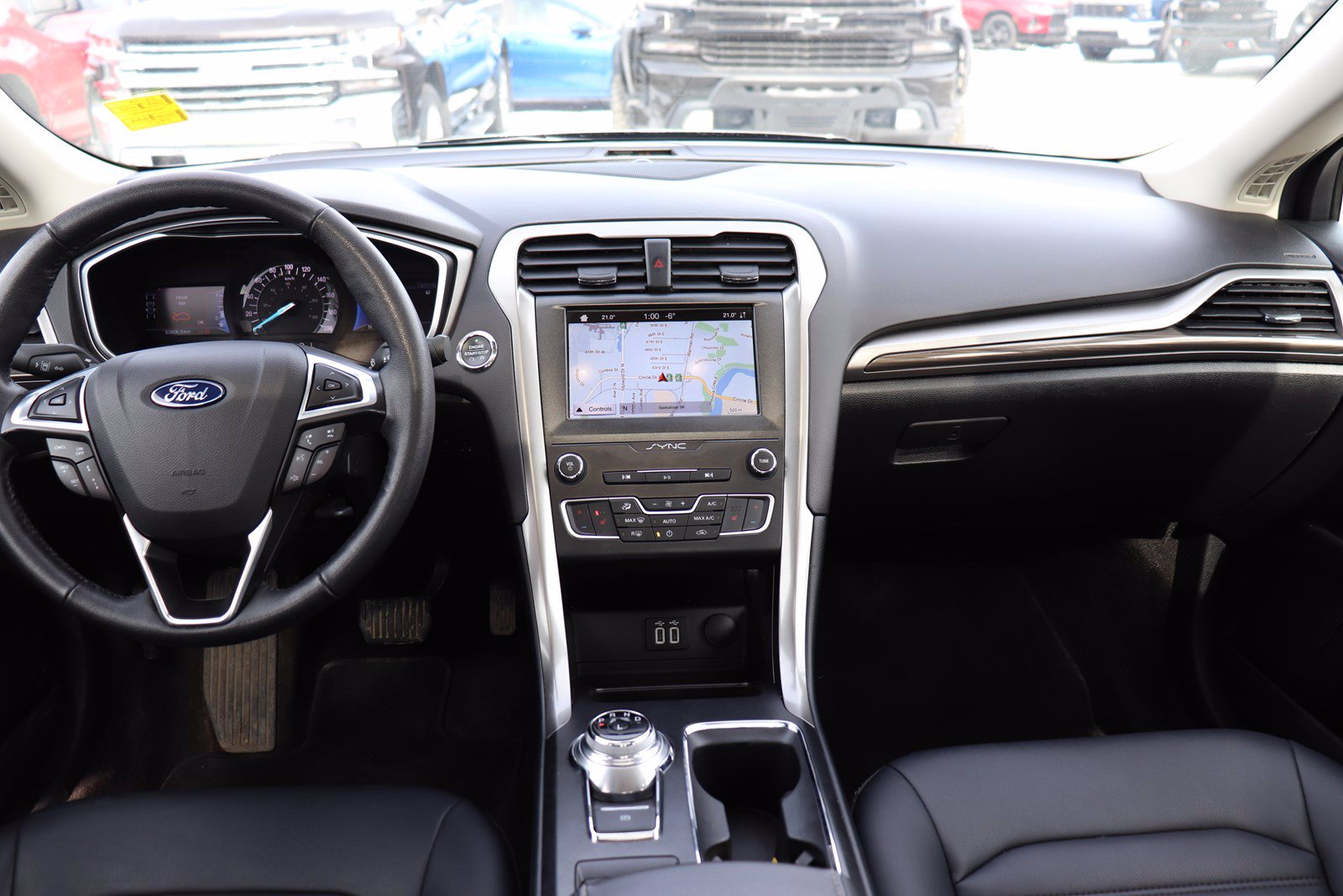 Certified Pre-Owned 2019 Ford Fusion Hybrid SEL - Leather, Sunroof, Blind Spot Monitoring