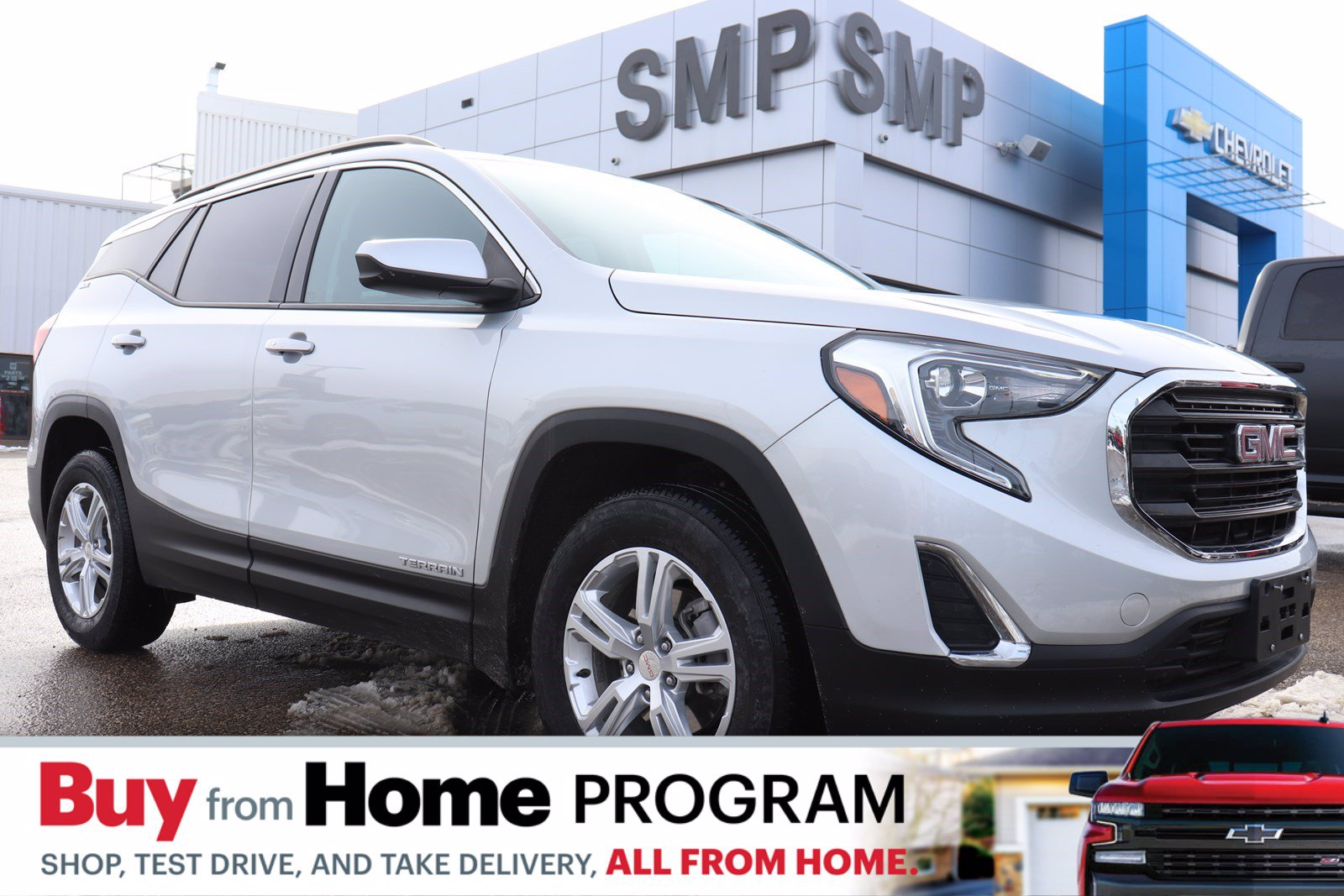 Certified Pre-Owned 2019 GMC Terrain SLE - Heated Seats, Remote Start, Back Up Camera