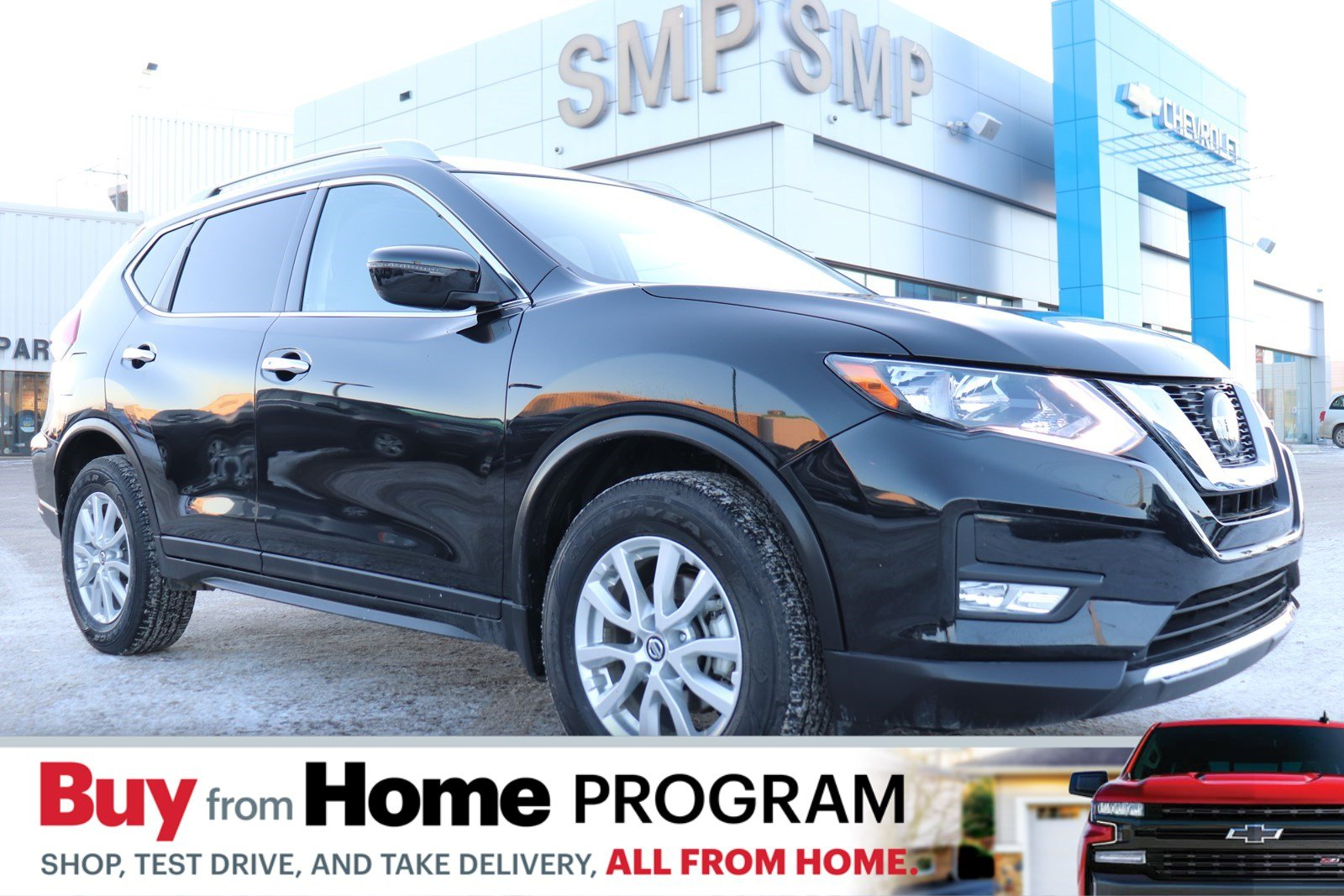Certified Pre-Owned 2019 Nissan Rogue SV - Sunroof, Htd Seats, Remote Start, Back Up Camera