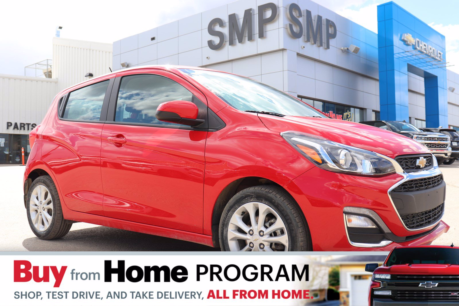 Certified Pre-Owned 2019 Chevrolet Spark LT- AC, Back Up Camera, New Tires, Alloys