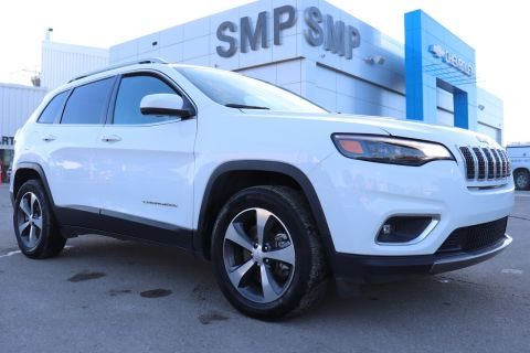 2019 Jeep Cherokee Limited - Leather, Sunroof, Navigation