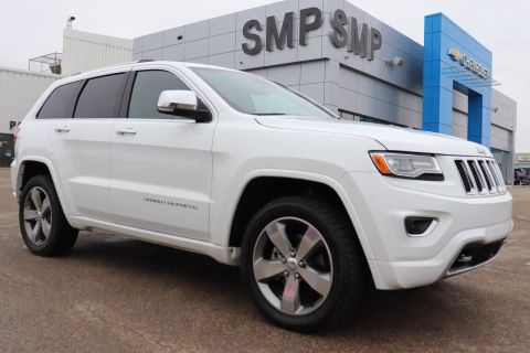 2016 Jeep Grand Cherokee Overland - Leather, Rem Start, Navigation