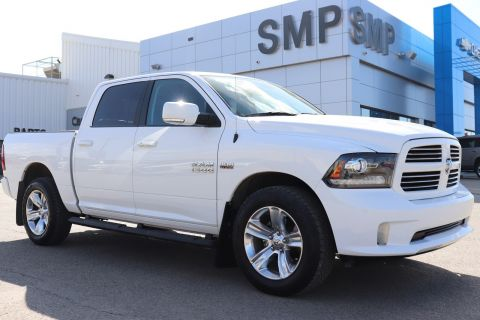 2017 Ram 1500 Sport - Htd/Cooler Leather, Rem Start, Tow PKG