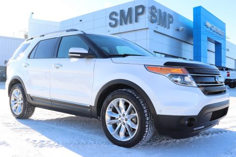 2015 Ford Explorer Limited - Leather, Sunroof, Navigation, 7 Passenger
