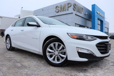 2019 Chevrolet Malibu LT- True North, Sunroof, Leather, Heated Steering Wheel