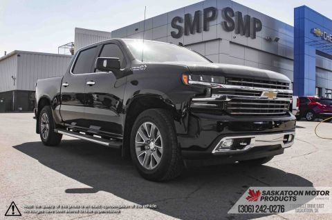 New 2019 Chevrolet Silverado 1500 High Country 4WD Crew Cab Pickup
