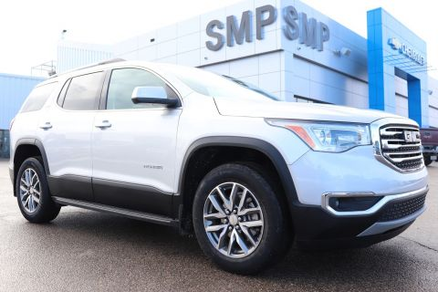 2019 GMC Acadia SLE - Rem Start, Htd Seats, Sunroof, Quad Seats, Tow Pkg