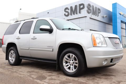 Pre-Owned 2010 GMC Yukon SLT - Leather, Sunroof, DVD, 8 Passenger, Rem Start 4WD Sport Utility