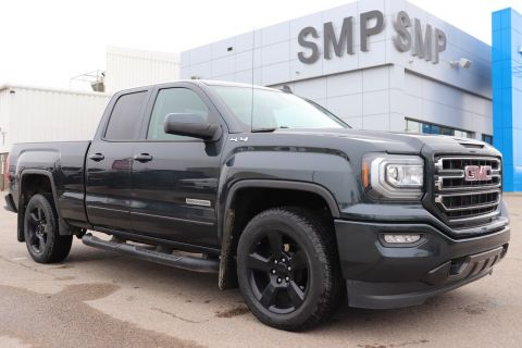 Certified Pre-Owned 2018 GMC Sierra 1500 Elevation Edition, Back Up Camera, 20 Alloys, Trailering Pkg 4WD Extended Cab Pickup