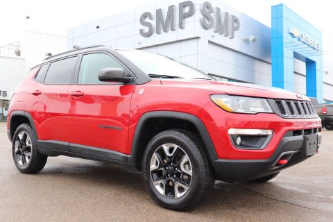 2018 Jeep Compass Trailhawk - Rem Start, Heated Steering Wheel, Pwr Lift Gate