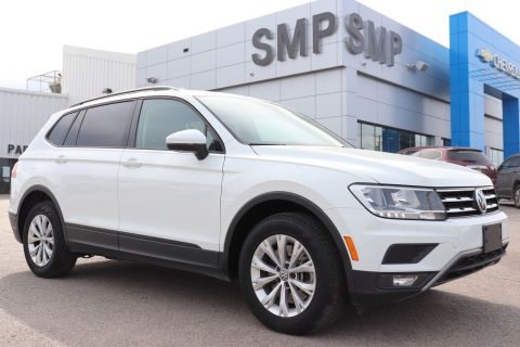 2018 Volkswagen Tiguan Trendline - 4 Motion, Htd Seats, Bluetooth, Back Up Camera