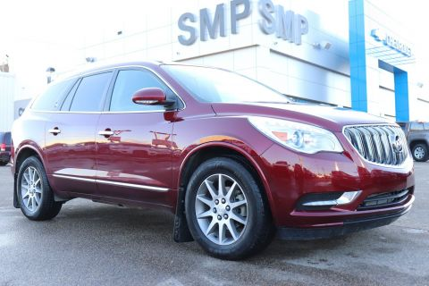 2016 Buick Enclave Heated Leather, Rem Start, Side Blind Zone Alert, Pwr Lift Gate