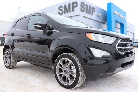 2018 Ford EcoSport Titanium - Navigation, Sunroof, Heated Seats